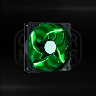 Buy Coolermaster SICKLEFLOWX GREEN LED(ROW) cabinet fan in Bangalore, India