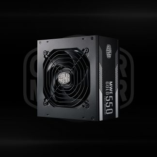 Buy Coolermaster MWE Gold 550 Full Modular Power Supply in Bangalore, India