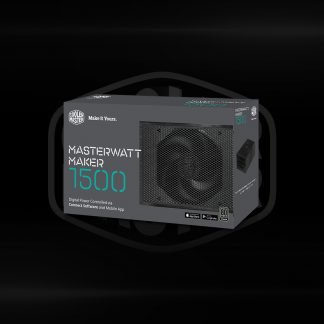 Buy Coolermaster MasterWatt 1500 Maker A UK Cable Powersupply in Bangalore, India